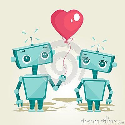 роботы влюбленности