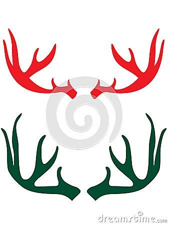 рожочки оленей