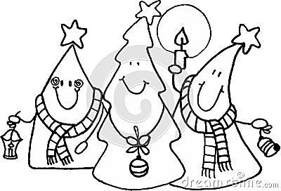 рождественские елки