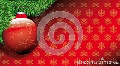 рождество шарика