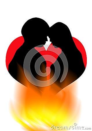 романс поцелуя
