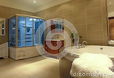 роскошь ванной комнаты