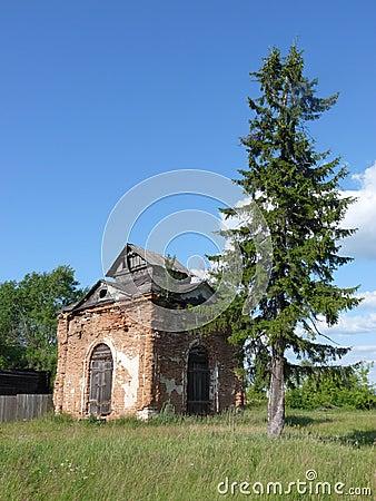 руина молельни