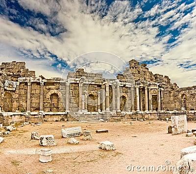 Руины Agora