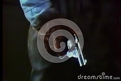 Рука указывая оружие акции видеоматериалы