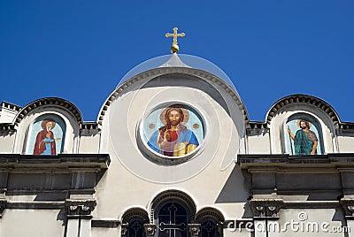 Русская церковь в славном