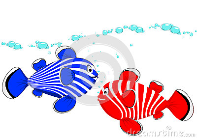 Рыбы пар