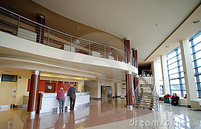 салон гостиницы