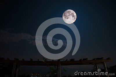 Где на планете видна самая большая луна? - Ответы