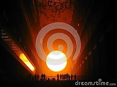 самомоднейшее tate солнца комплекта 2 Редакционное Стоковое Фото