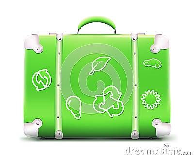 сбор винограда чемодана