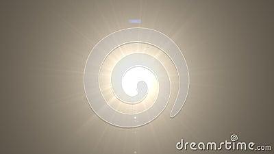 Светящийся свет объектива над черным фоном Простота добавления оверлея или фильтра экрана по видео акции видеоматериалы