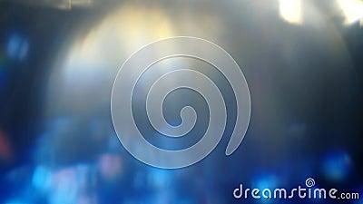 Светящийся фильтр рассеивания объектива акции видеоматериалы
