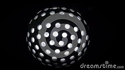 Свет шарика диско сток-видео