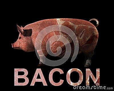 Свинья и бекон