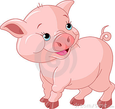 свинья младенца маленькая