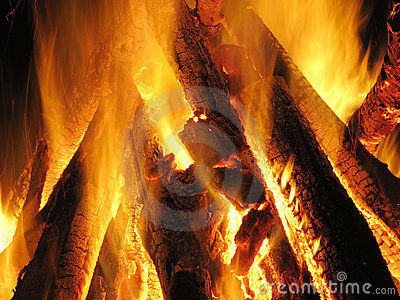 сгорите место пламени
