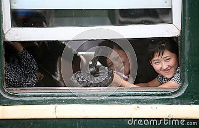 Северная Корея 2013 Редакционное Изображение