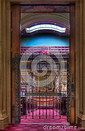сенат входа камеры