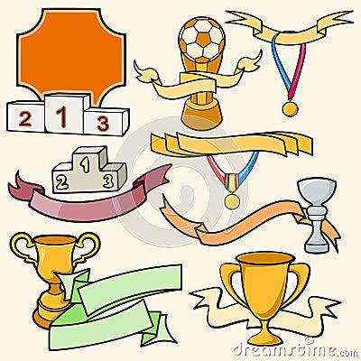 Серия шаблона спорта