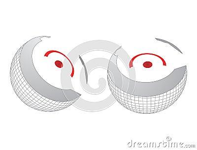 Сердечник глобуса