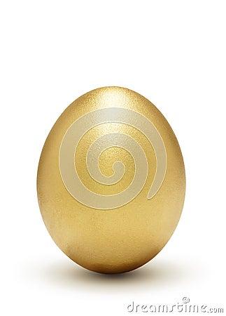 символ профита яичка золотистый