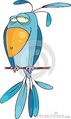 синь птицы