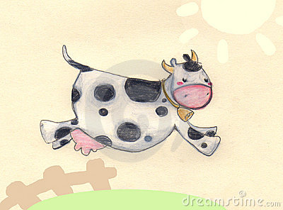 скакать коровы