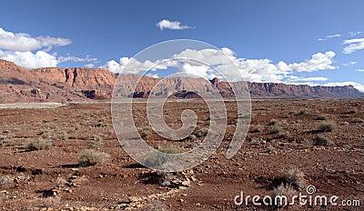 Скалы глушь Paria Каньон-Vermilion, Юта, США