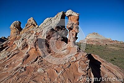 скалы landscape vermilion