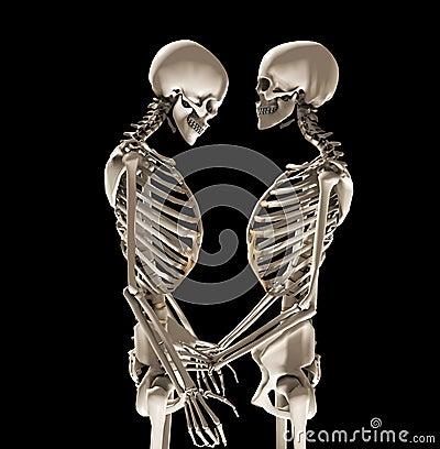скелеты влюбленности