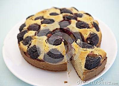 слива торта contry