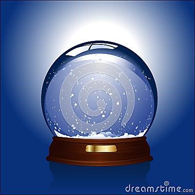 снежок глобуса