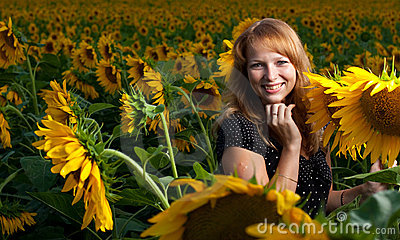 солнцецветы девушки