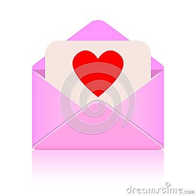 Сообщение влюбленности