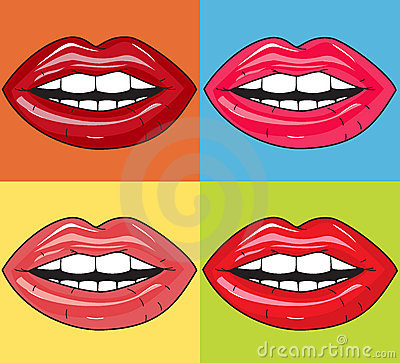 сочные губы