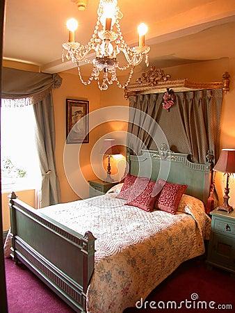 спальня романтичная