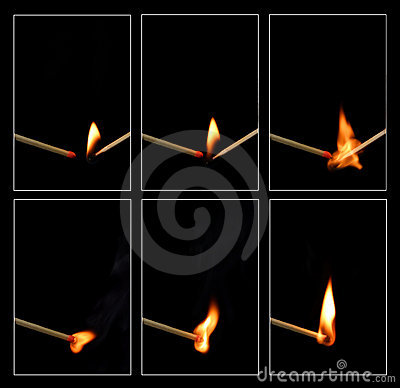 спичка зажигания