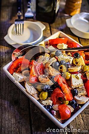Среднеземноморской салат