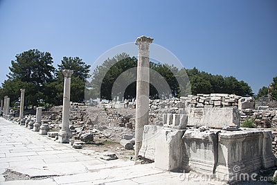 Старый городок Ephesus. Турция