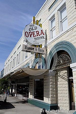 Старый оперный театр, Аркадия FL Редакционное Изображение
