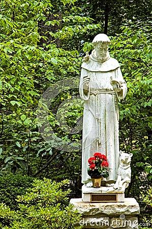 статуя st francis