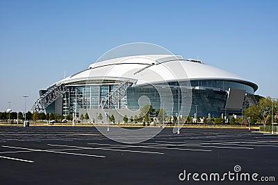 стадион ковбоев Редакционное Изображение