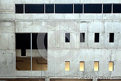 стена бетонной плиты