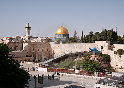стена Иерусалима западная