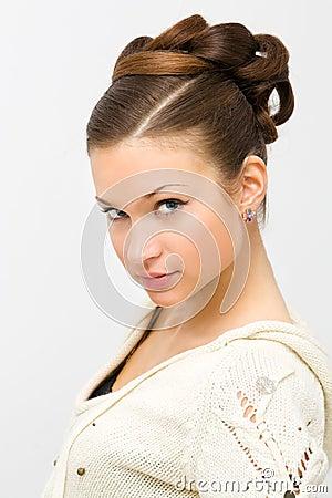стиль причёсок