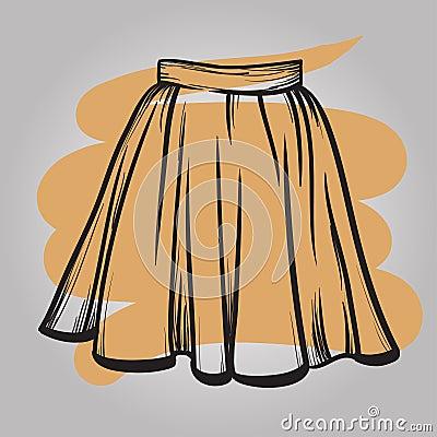 расчёт ярусной юбки