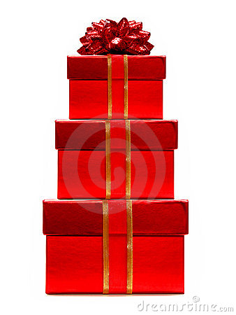 стог подарков