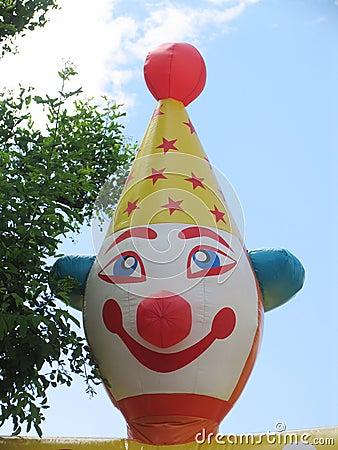 сторона клоуна