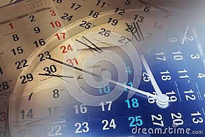 страницы часов календара